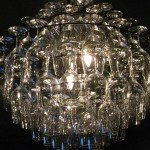 wineglass chandelier