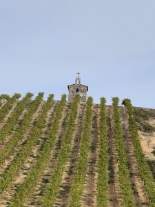Red Willow Vineyard's stone chapel is one of the most recognizable buildings in Washington wine country