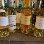 Golden, sweet wines of Bordeaux were enjoyed at a virtual tasting