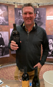 Justin Wylie with Rosebud Cab in 2018