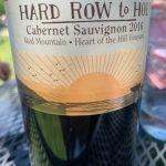 Hard Row to Hoe Cabernet Sauvignon