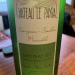 Chateau le Payral Bergerac Blanc Sec 2017