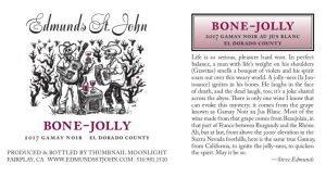 2017 Edmunds St. John Bone-Jolly Gamay Noir Rosé