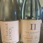 Two Vintners Grenache Blanc and Savage Grace Blanc Franc