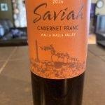 Saviah Cellars Cabernet Franc