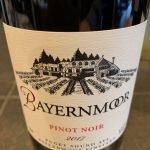 Bayernmoor 2017 Pinot Noir