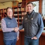 Marty Clubb and Marcus Rafenelli talk about L'Ecole wine production