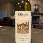 This 2018 Cabernet Franc-Merlot is one of L'Ecole's Artisan Wines