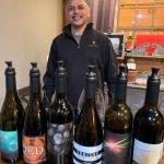 Billo at Rasa Vineyards WA Wine Tour