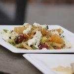 Close Up of Asian Pear Salad