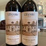 L'Ecole Estate wine