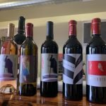 Upchurch lineup of wines