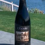 LEcole Syrah by the Lake